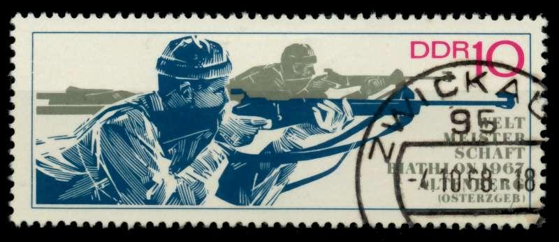 DDR 1967 Nr 1251 gestempelt 90AF0A 0