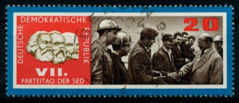 DDR 1967 Nr 1259 gestempelt 90AF1E 0