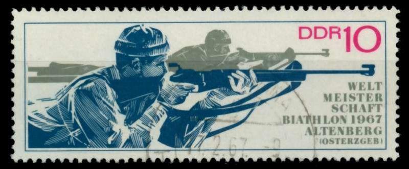 DDR 1967 Nr 1251 gestempelt 90AF2A 0