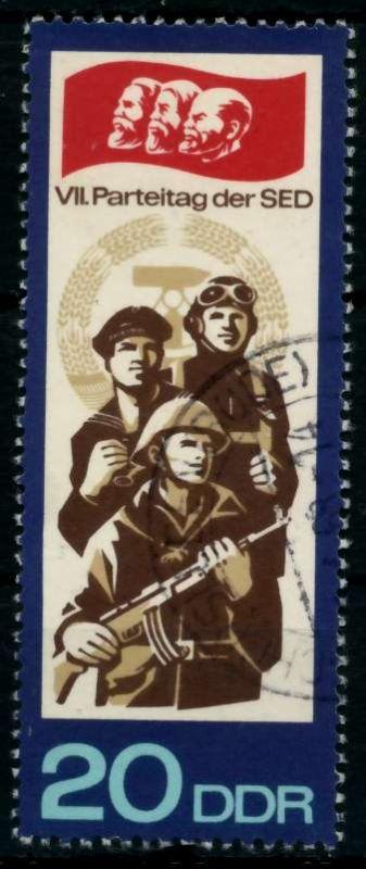 DDR 1967 Nr 1271 gestempelt 90AF62 0