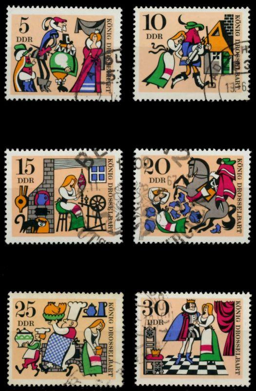 DDR 1967 Nr 1323-1328 gestempelt 90AF9A 0