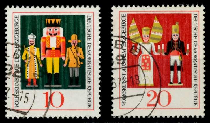 DDR 1967 Nr 1333-1334 gestempelt 90AFCA 0