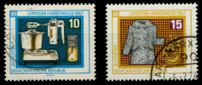 DDR 1967 Nr 1306-1307 gestempelt 90AFD2 0