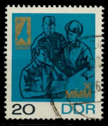 DDR 1967 Nr 1320 gestempelt 90AFE2 0