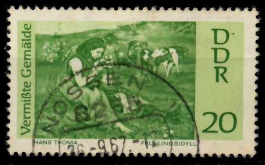 DDR 1967 Nr 1288 gestempelt 90AFFA 0