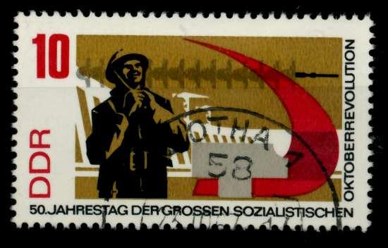 DDR 1967 Nr 1313 gestempelt 90B062 0