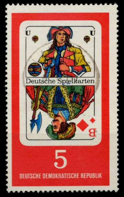 DDR 1967 Nr 1298 gestempelt 90B07A 0