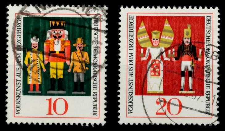 DDR 1967 Nr 1333-1334 gestempelt 90B096 0
