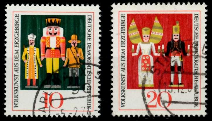 DDR 1967 Nr 1333-1334 gestempelt 90B0FE 0