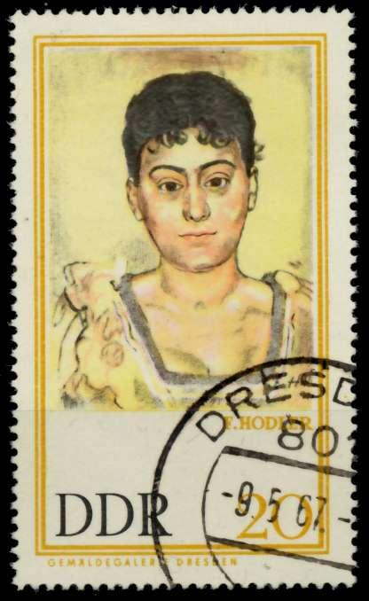 DDR 1967 Nr 1262 gestempelt 90B112 0