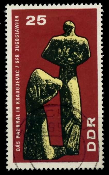 DDR 1967 Nr 1311 gestempelt 90B1DE 0