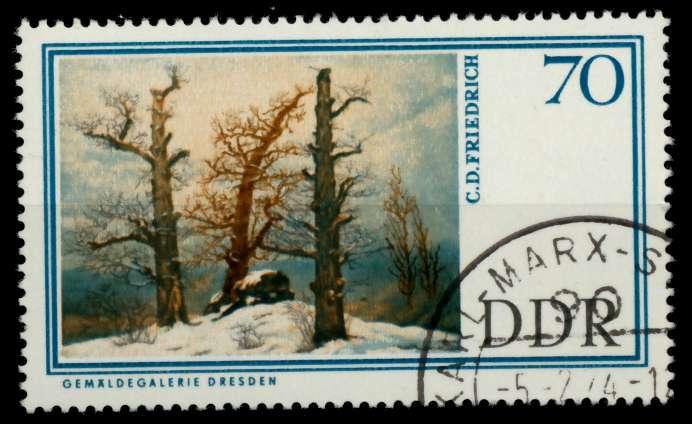DDR 1967 Nr 1267 gestempelt 90B22A 0