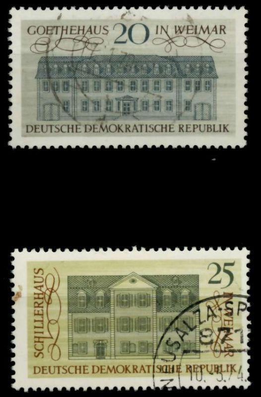 DDR 1967 Nr 1329-1330 gestempelt 90B236 0