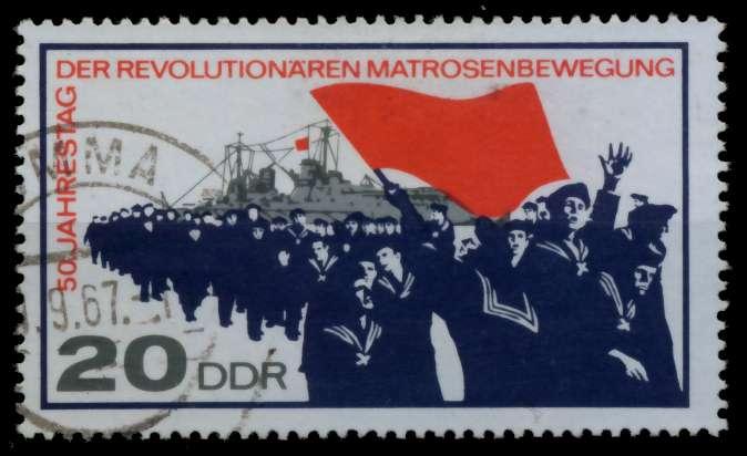 DDR 1967 Nr 1310 gestempelt 90B252 0