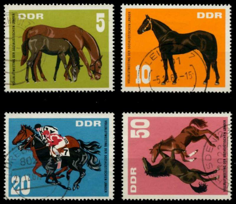 DDR 1967 Nr 1302-1305 gestempelt 90B266 0