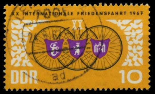 DDR 1967 Nr 1278 gestempelt 90B27E 0