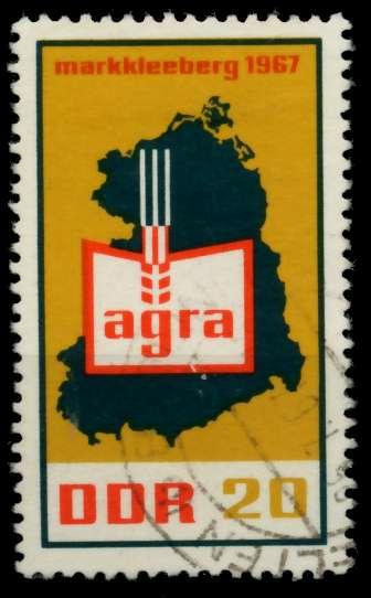 DDR 1967 Nr 1292 gestempelt 90B28E 0