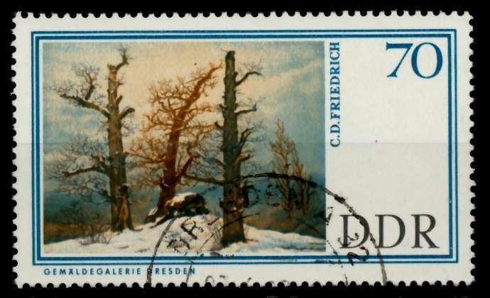 DDR 1967 Nr 1267 gestempelt 90B29A 0