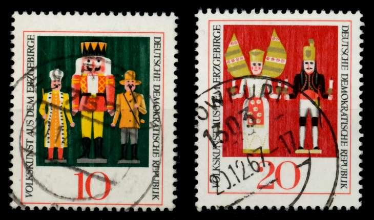 DDR 1967 Nr 1333-1334 gestempelt 90B2BE 0