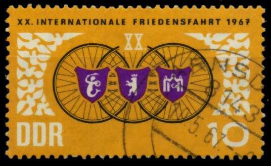 DDR 1967 Nr 1278 gestempelt 90B2DE 0