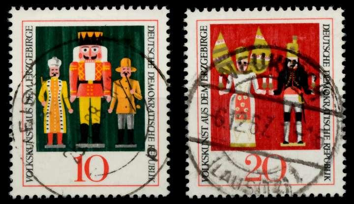 DDR 1967 Nr 1333-1334 zentrisch gestempelt 90B33A 0