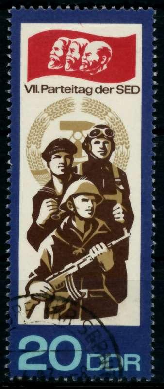 DDR 1967 Nr 1271 gestempelt 90B37A 0