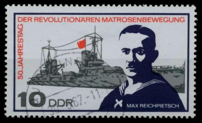 DDR 1967 Nr 1308 gestempelt 90B3DA 0