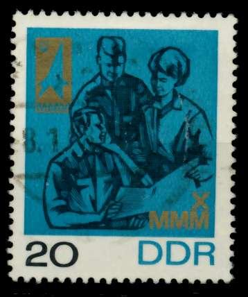 DDR 1967 Nr 1320 gestempelt 90B3E2 0