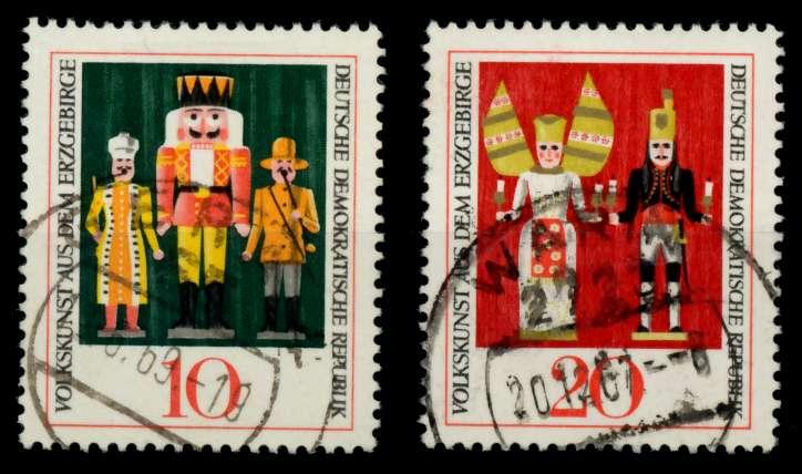 DDR 1967 Nr 1333-1334 gestempelt 90B3FA 0