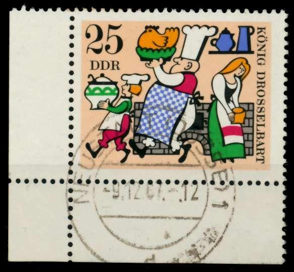 DDR 1967 Nr 1327 zentrisch gestempelt ECKE-ULI 90B406 0