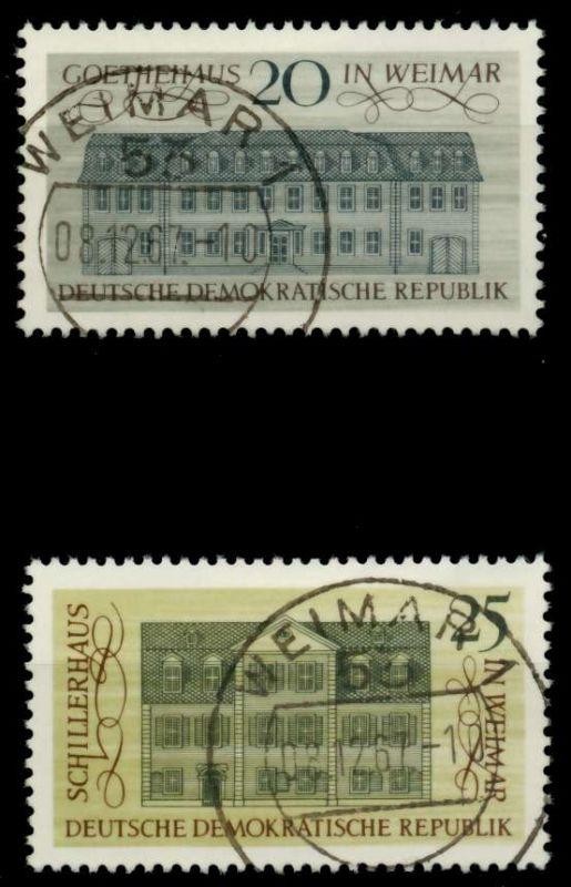DDR 1967 Nr 1329-1330 zentrisch gestempelt 90B41E 0
