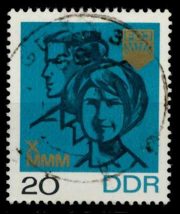 DDR 1967 Nr 1321 gestempelt 90B442 0