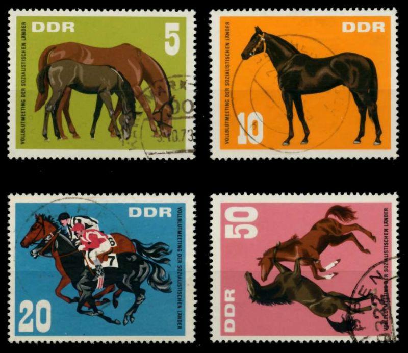 DDR 1967 Nr 1302-1305 gestempelt 90B46A 0