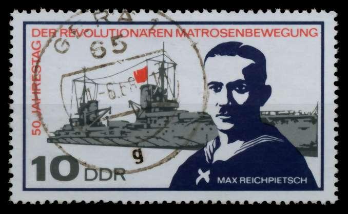 DDR 1967 Nr 1308 zentrisch gestempelt 90B46E 0