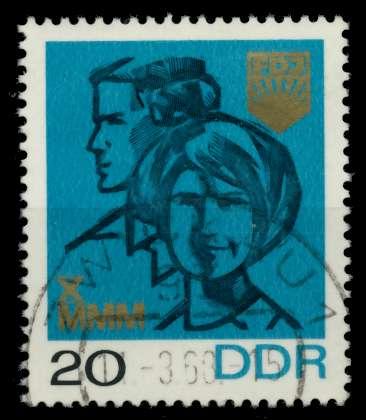 DDR 1967 Nr 1321 gestempelt 90B476 0