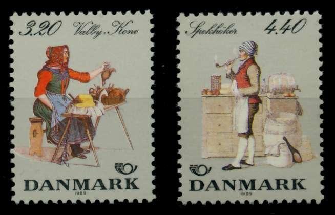 DÄNEMARK Nr 947-948 postfrisch S02D58A 0