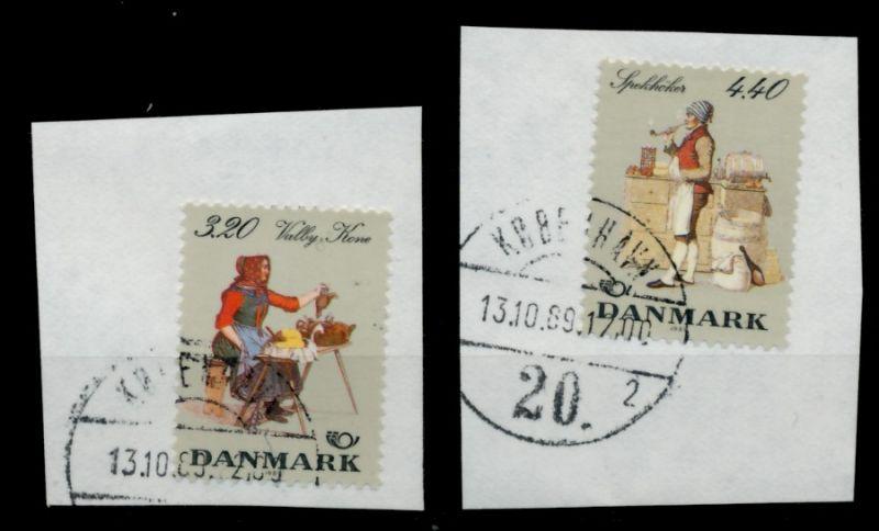 DÄNEMARK Nr 947-948 gestempelt Briefst³ck 90DD0E