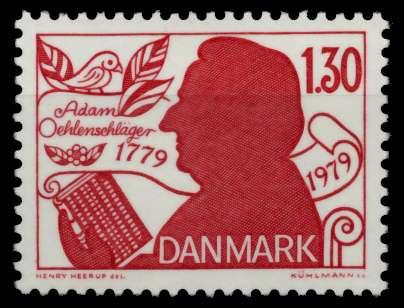 DÄNEMARK Nr 694 postfrisch S02D4CA 0