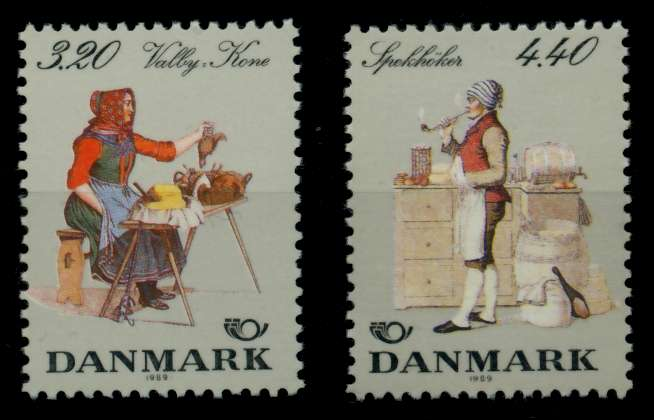 DÄNEMARK Nr 947-948 postfrisch S02D586 0