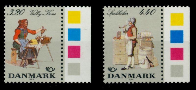 DÄNEMARK Nr 947-948 postfrisch SRA 90DD76 0