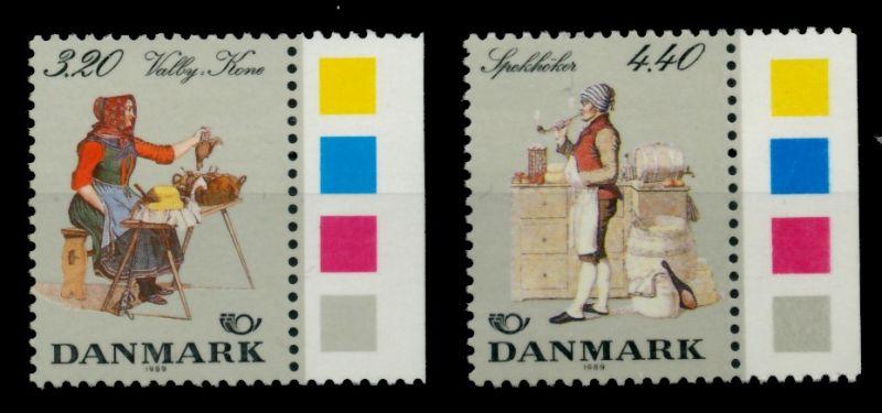 DÄNEMARK Nr 947-948 postfrisch SRA 90DD9A 0