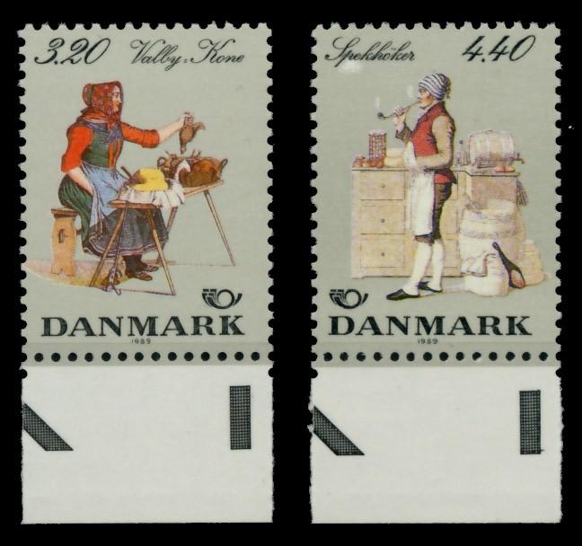 DÄNEMARK Nr 947-948 postfrisch URA 90DDBA 0