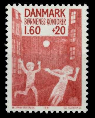 DÄNEMARK Nr 722 postfrisch S02D4BE 0