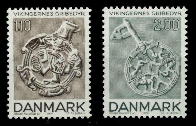 DÄNEMARK Nr 688-689 postfrisch S02D48E 0