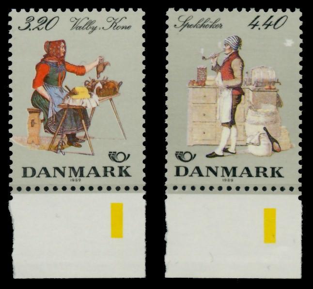 DÄNEMARK Nr 947-948 postfrisch URA 90DE0A 0
