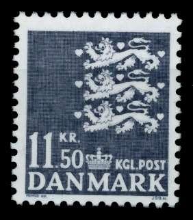 DÄNEMARK Nr 1330 postfrisch 90DE26 0