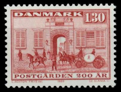 DÄNEMARK Nr 697 postfrisch S02D4FE 0