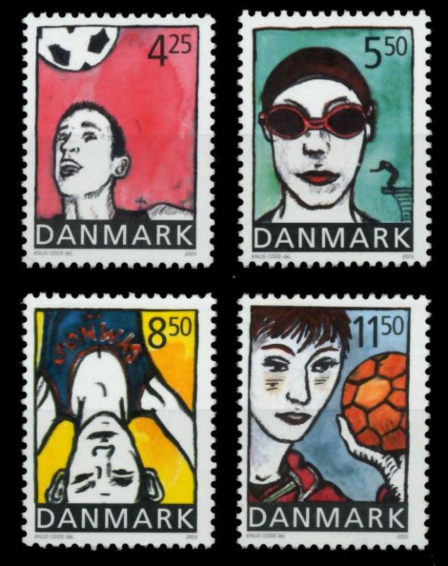 DÄNEMARK Nr 1331-1334 postfrisch 90DE5A 0