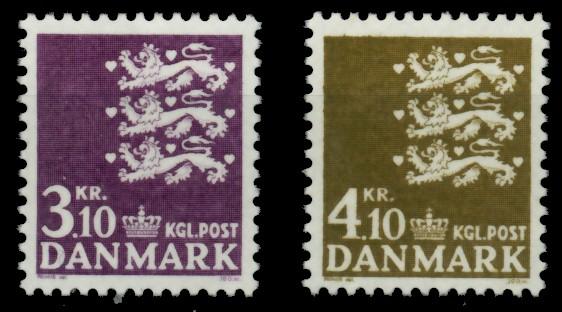 DÄNEMARK Nr 499-500 postfrisch 90DF2A 0