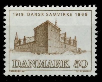 DÄNEMARK Nr 480 postfrisch 90DF32 0